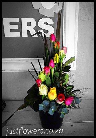 Dozen Roses Arranged JF35