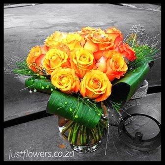 Short Roses Vase JF87