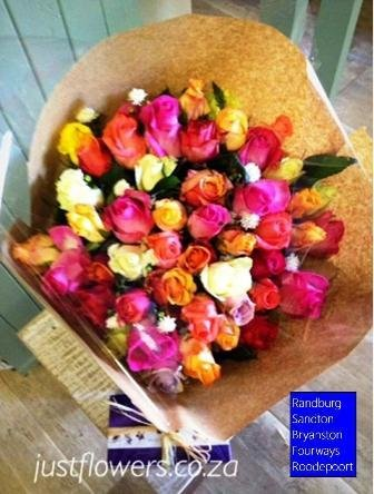 50 Mix Rose Bouquet JF98