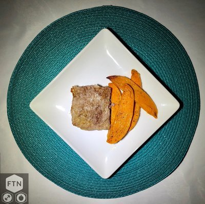 Meatloaf and Sweet Potato Fries