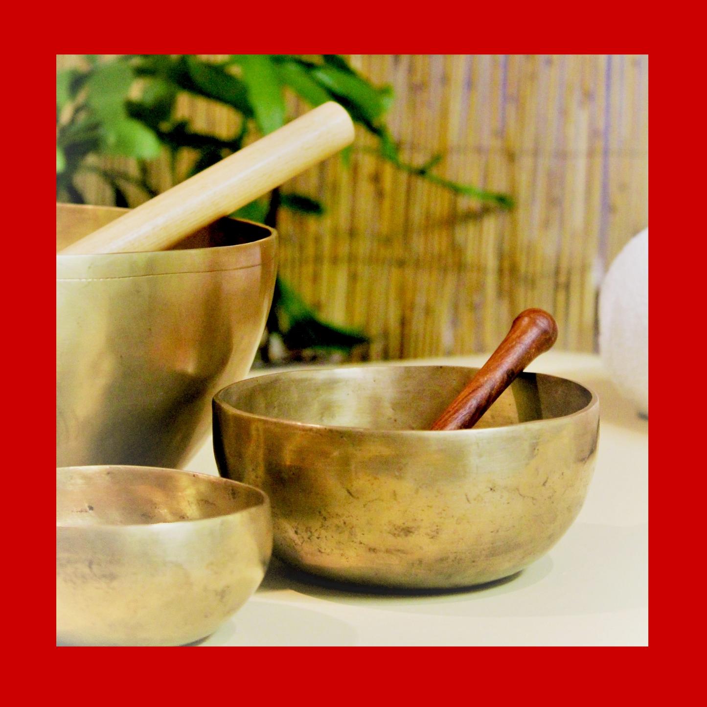 Singing Bowls Root Chakra Note C | Healing Meditation Music