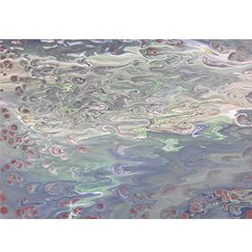 Lysel Art Onder de Waterspiegel (wenskaart of origineel schilderij)