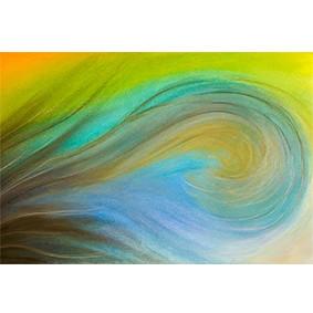 """Lysel Art """"Overspoeld"""" 60x90 (ook als wenskaart)"""