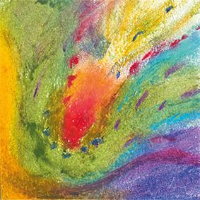 Lysel Art Intuïtieve Voelsprieten (wenskaart)
