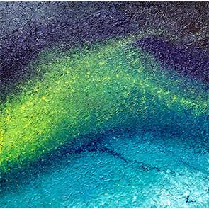 """Lysel Art """"Vanuit Begrenzing"""" 60x60 (ook als wenskaart)"""
