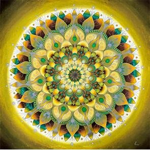 Lysel Mandala 'Perfecte Imperfectie' (wenskaart, artprint of originele tekening)