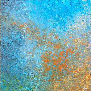 """Lysel Art """"Erin Springen"""" 50x50 (ook als wenskaart)"""