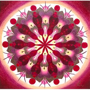 """Lysel Mandala """"Mogelijkheden"""" (wenskaart, artprint of origineel)"""