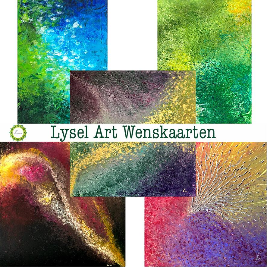 Lysel Art Wenskaarten Mix 1 (5 stuks)