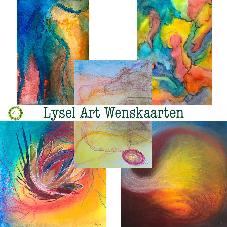 Lysel Art Wenskaarten mix 2 (5 stuks)