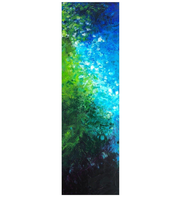 """Lysel Art """"Tropisch Water"""" 120x40 (ook als wenskaart)"""