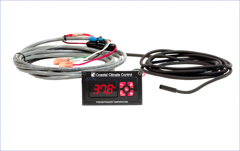 Coastal Digital Thermostat, 12v, pre-wired