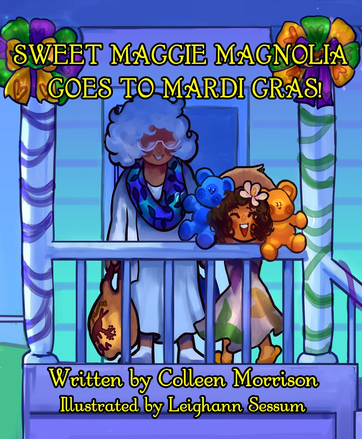Sweet Maggie Magnolia Goes to Mardi Gras