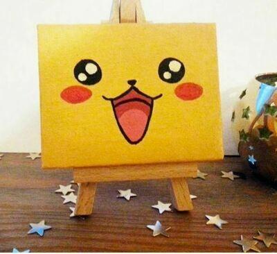 Paint a Pikachu 10:30AM Class