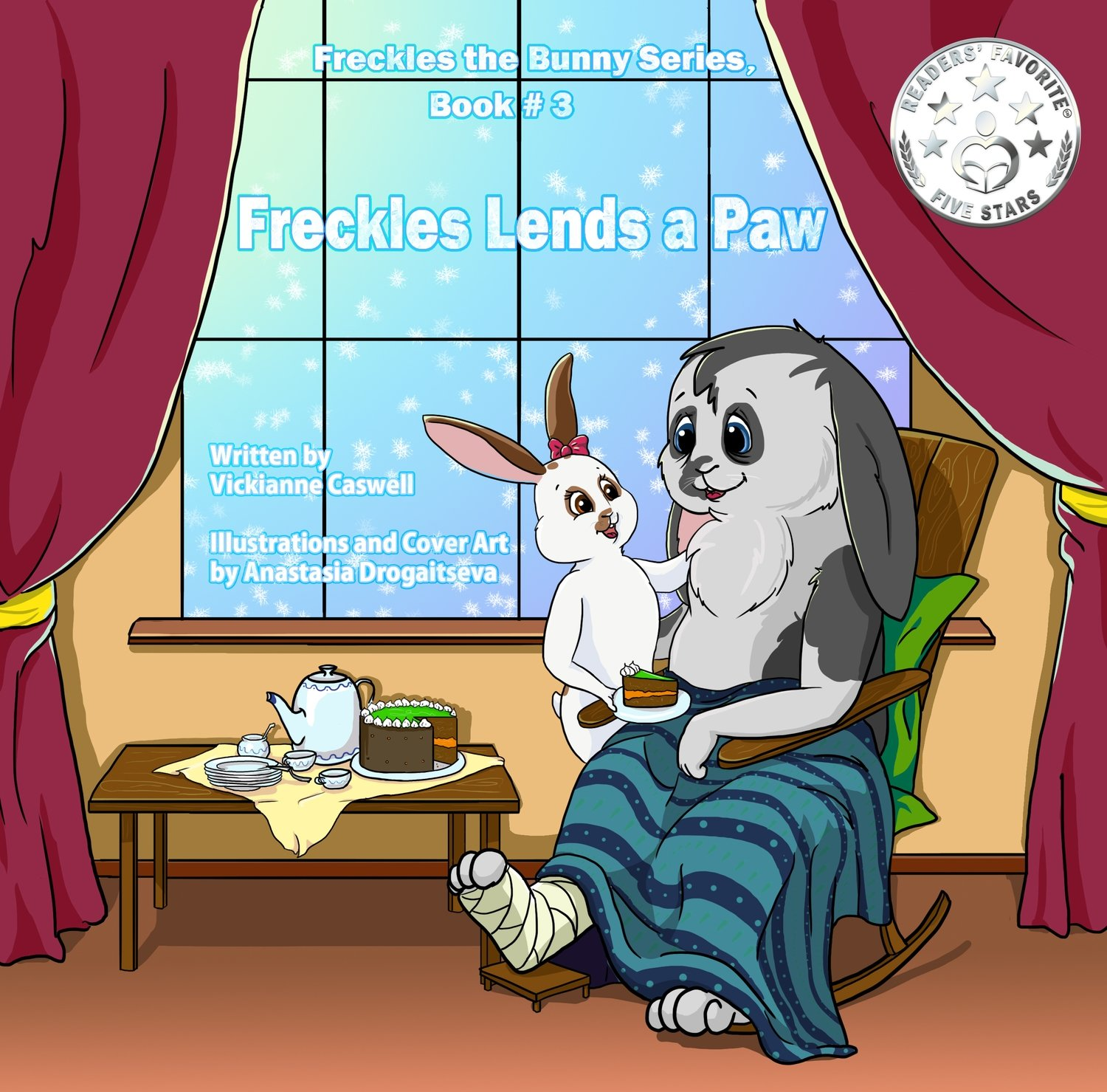 Freckles Lends a Paw EPUB (Freckles the Bunny Series # 3)