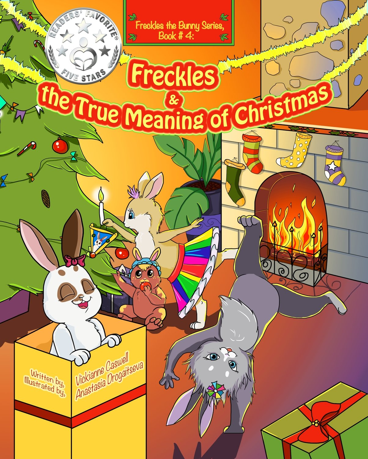 Freckles and the True Meaning of Christmas EPUB (Freckles the Bunny Series # 4)