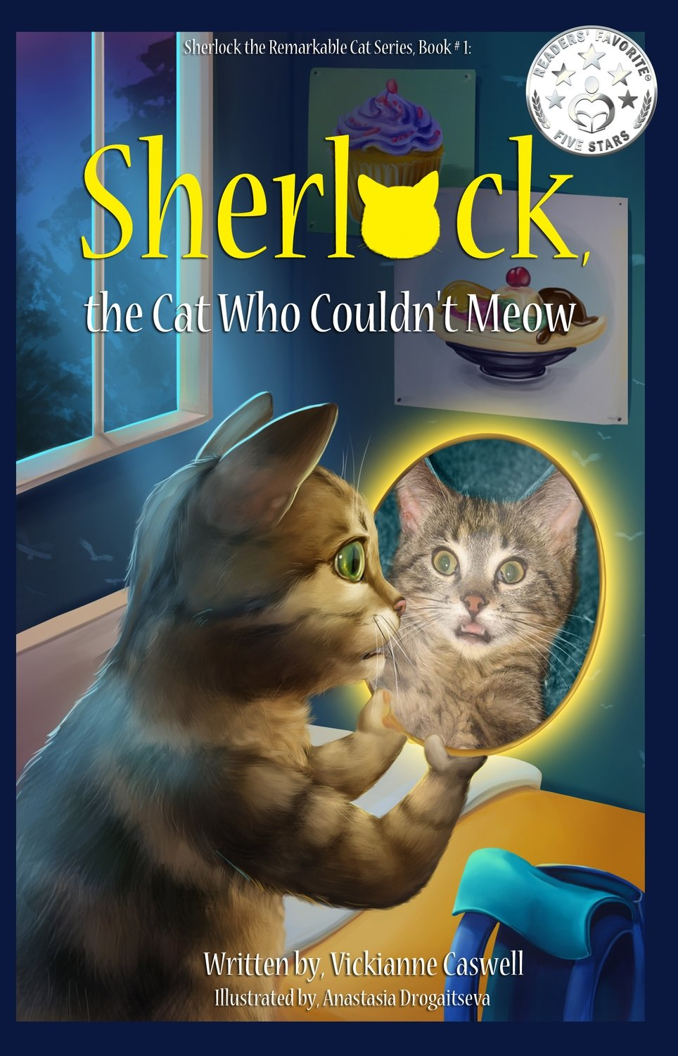 Sherlock, the Cat Who Couldn't Meow EPUB (Sherlock the Remarkable Cat Series # 1)