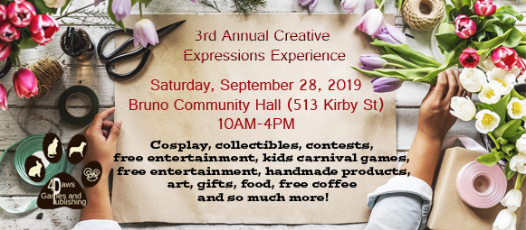Creative Expressions Tables 2019