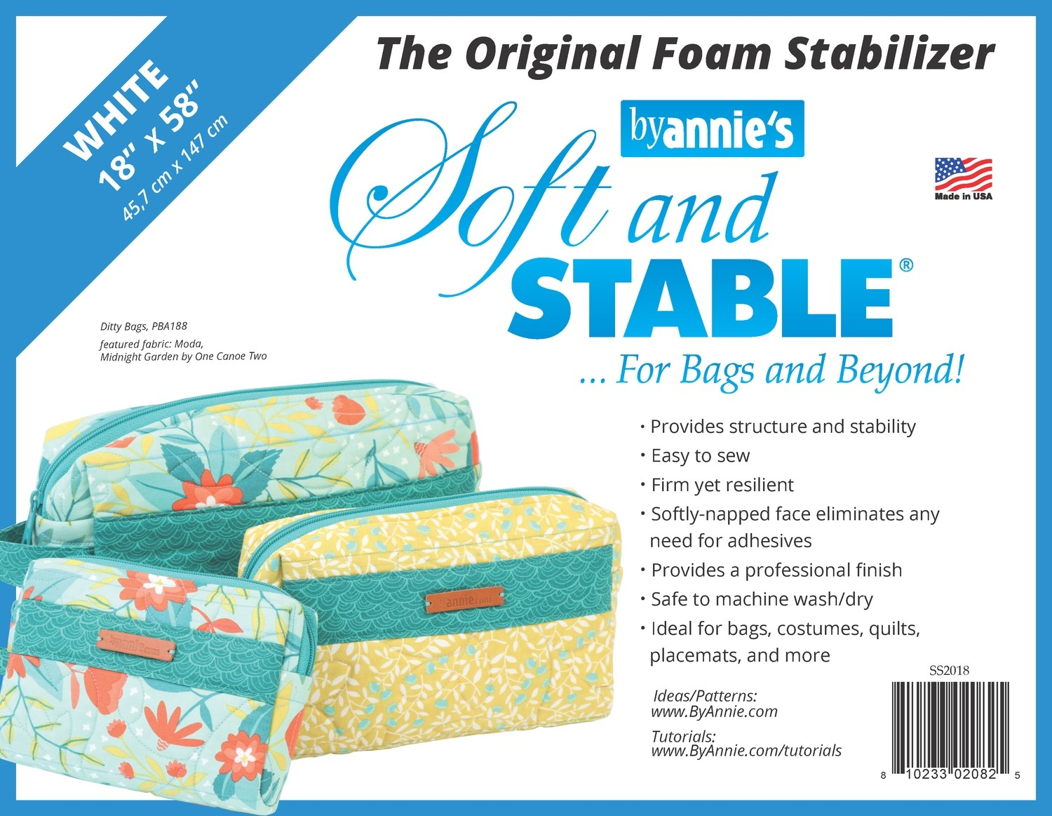 ByAnnie's Soft and Stable 18