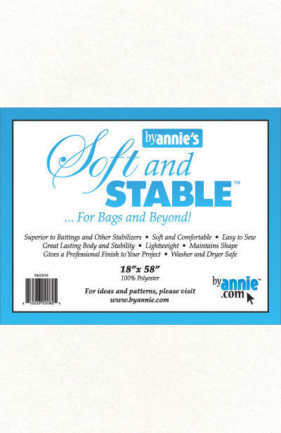 """ByAnnie's Soft and Stable 18"""" x 58"""" white S&SW1/2Y"""