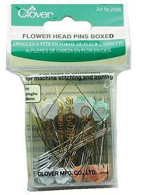 Clover Flower Head Pins - Box of 100