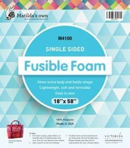 """Matilda's Own Single Sided Fusible Foam 18"""" X 58"""" MOFF1/2Yd"""