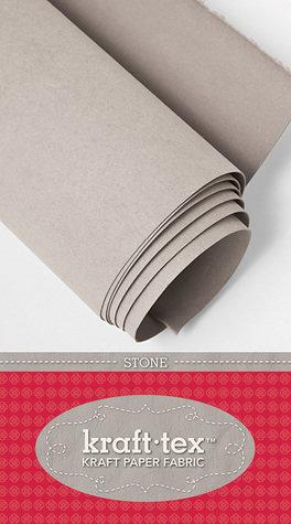 Kraft-tex Kraft Paper Fabric 48cm X 137cm - Stone KTRStone