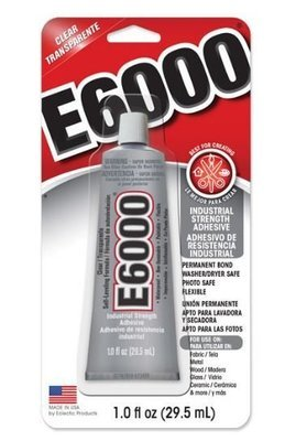 E6000 1oz/29.5ml With Optional Tips