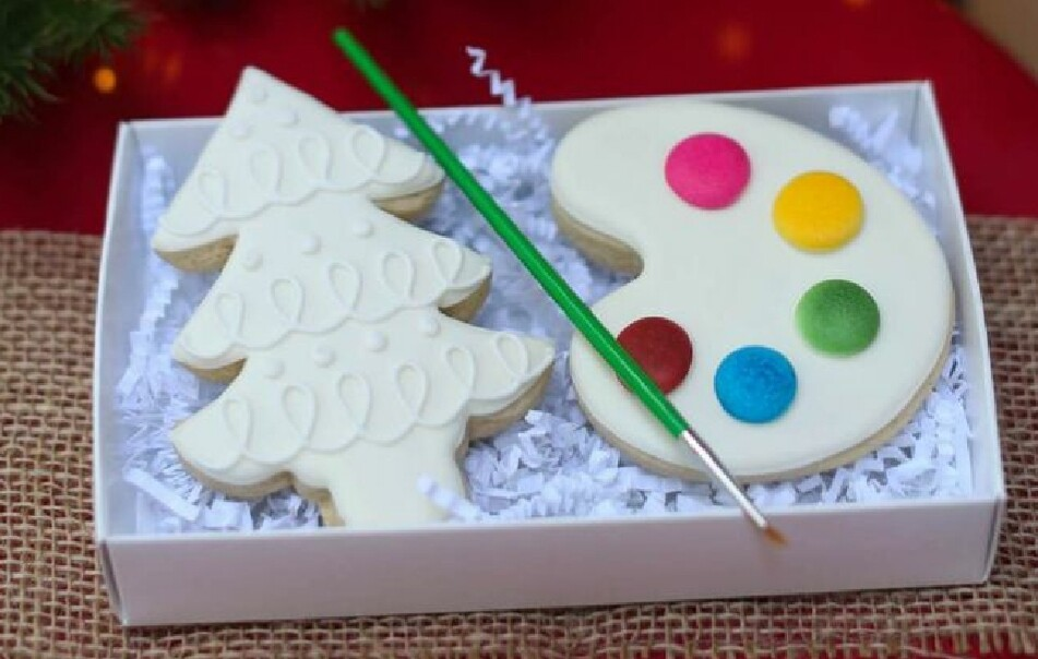 Paint your own cut out cookie!