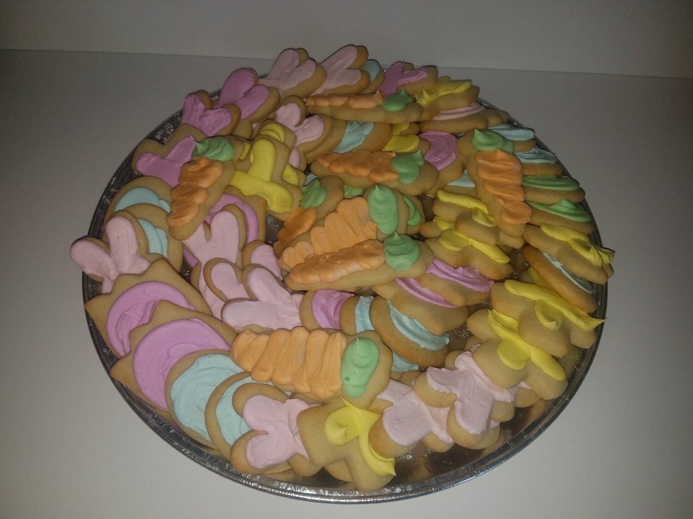 Easter Sugar Cookie Tray 2.5 Dozen