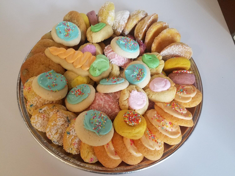 Easter Sugar Cookie 5 Dozen Variety Tray