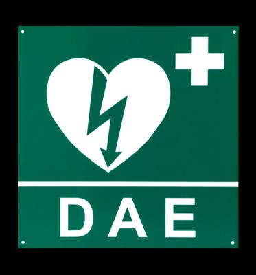 Cartello segnaletico DAE