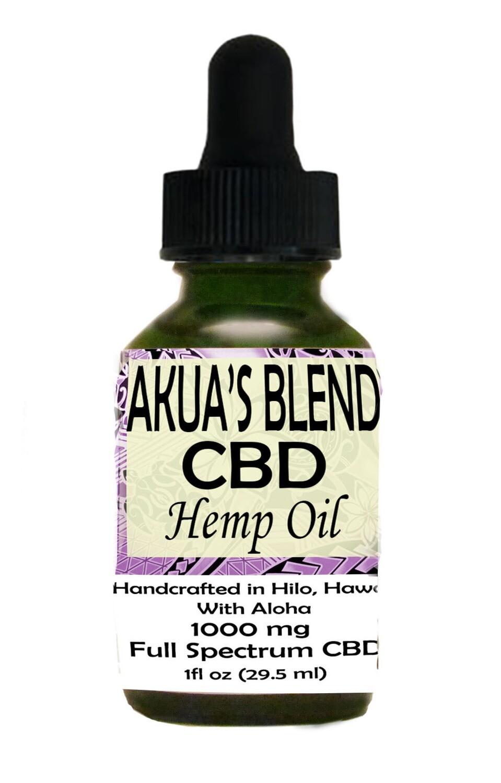 Akua's Blend Oil 1000