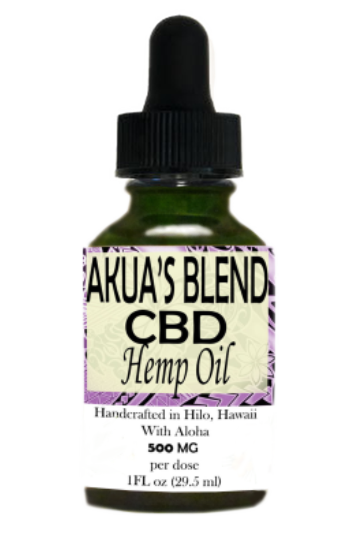 Akua's Blend Oil 500