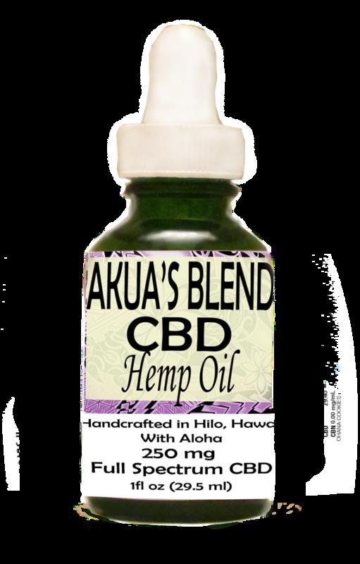 Akua's Blend Oil 250
