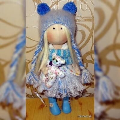 Текстильная кукла Любовь