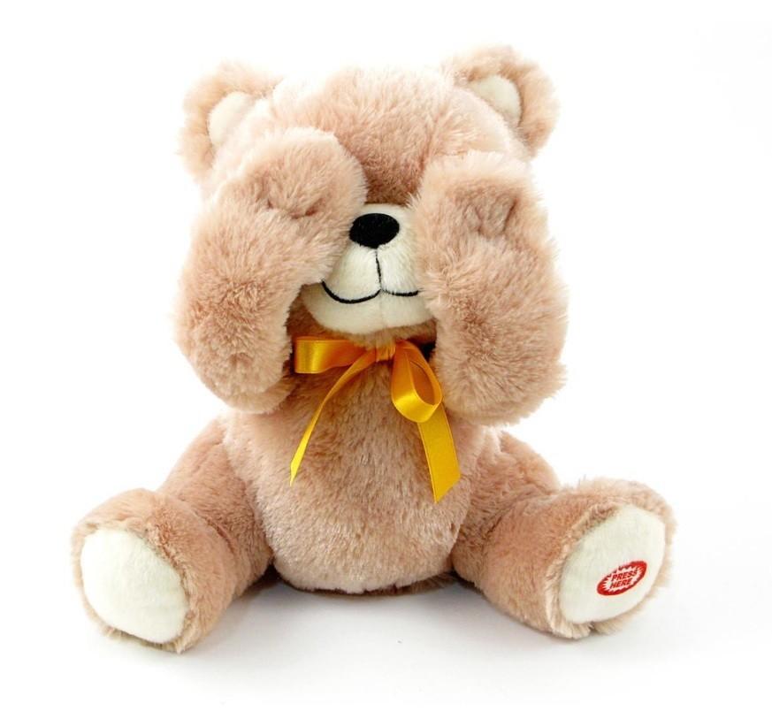 PEEK-A-BOO TEDDY BEAR (VIDEO)