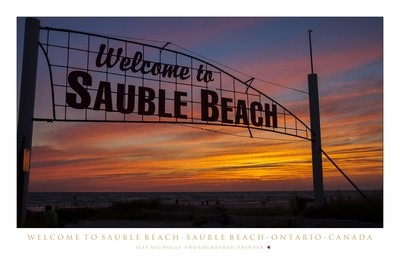Poster - Welcome To Sauble Beach
