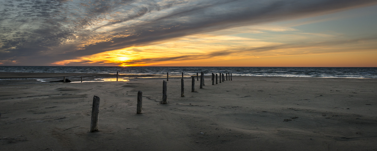 Sauble Entrance Sunset, Sauble Beach, Ontario, Canada