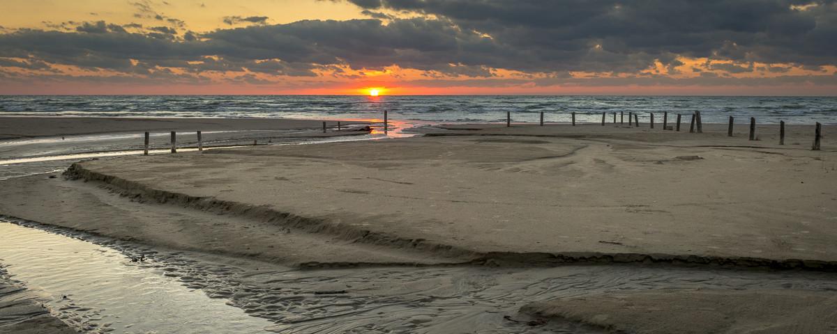 Sauble Entrance Sunset, Sauble Beach, Ontario, Canada