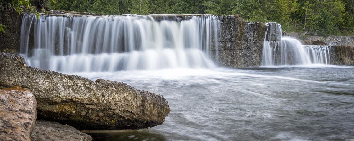 Sauble Falls, Sauble River, Sauble Beach, Ontario, Canada