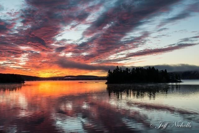 SUNRISE , Lake of Two Rivers, Algonquin Provincial Park