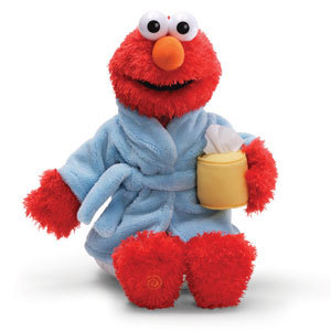 Feel Better Elmo (talking & sneezing)