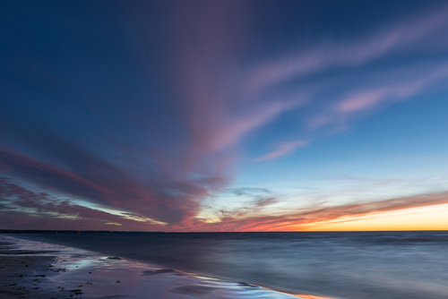 The Blue Hour, Sauble Beach, Ontario, Canada