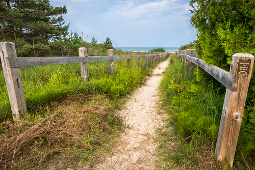 Sauble Beach Walkway, Sauble Beach, Ontario, Canada