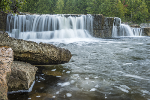 Sauble Falls, Sauble Beach, Ontario, Canada