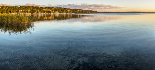 Wiarton Marina, Colpoy's Bay, Wiarton, Ontario, Canada