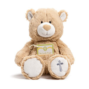 Prayer Card Teddy Bear