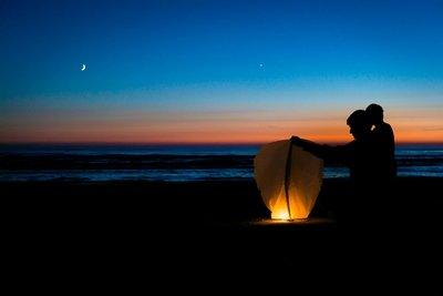Sauble Sky Lantern, Sauble Beach, Ontario, Canada