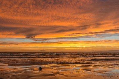 Orange Storm, Sauble Beach, Ontario, Canada